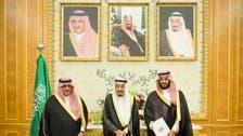 محمد بن نايف ومحمد بن سلمان يهنئان الملك بإقرار الرؤية