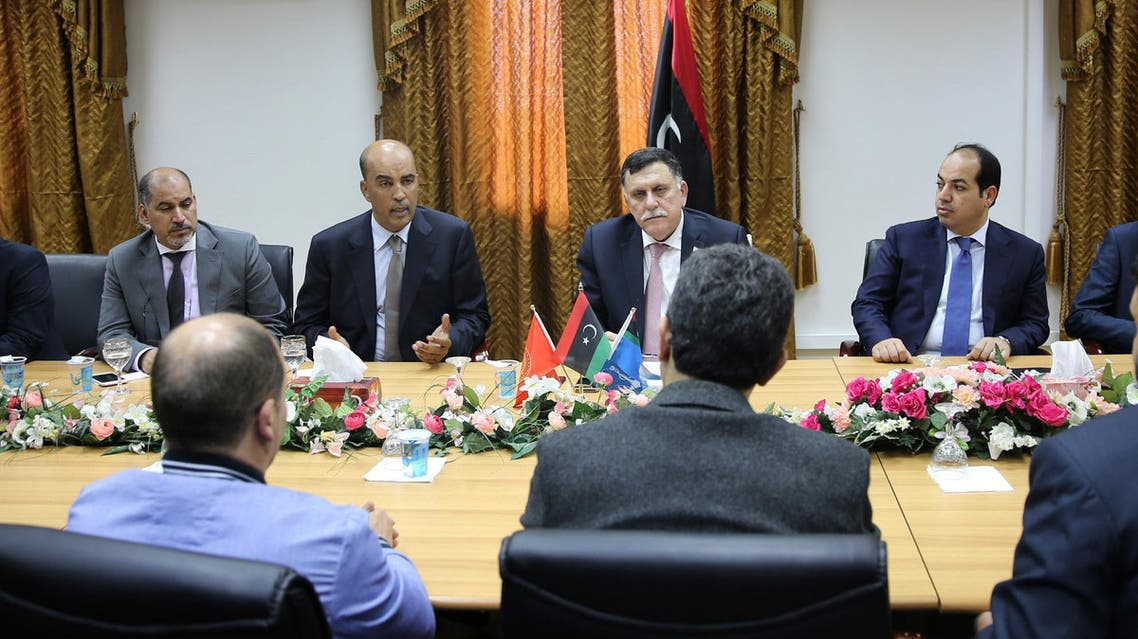 The U.N.-backed unity government meets in Tripoli, Libya, Thursday, March 31, 2016.(AP)
