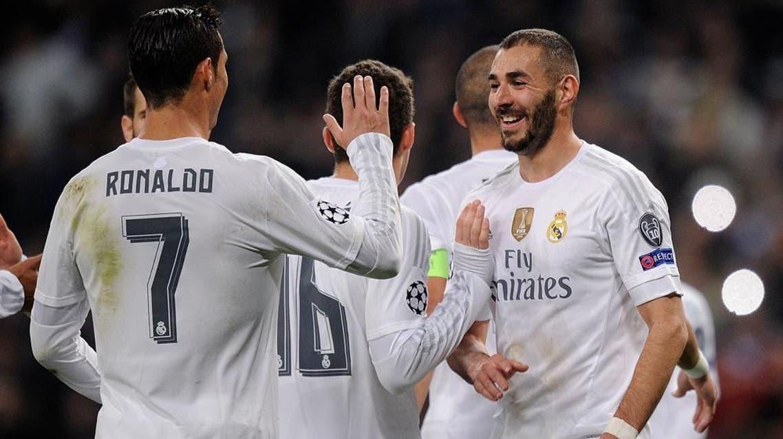 Ronaldo and Benzema