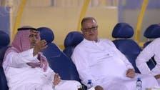 سيف الإسلام بن سعود يلتقي لاعبي النصر