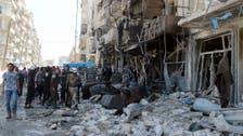 50 قتيلا بغارات للأسد على مدينة حلب
