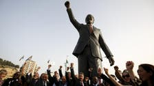 Palestinians unveil 20-foot Mandela statue in Ramallah