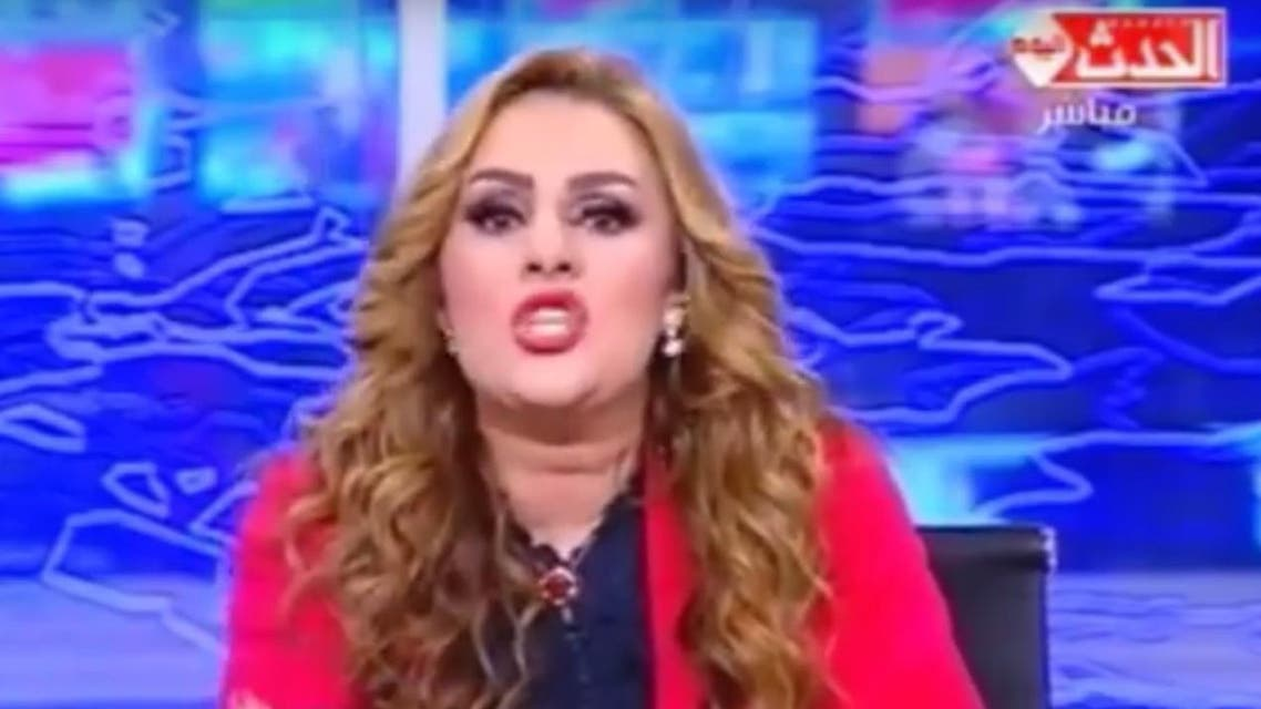 TV host Rania Mahmoud Yassin appeared on a private channel this week complaining about international attention over the killing. (YouTube)