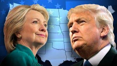 استطلاع: كلينتون تتقدم على ترامب بـ 5 نقاط مئوية