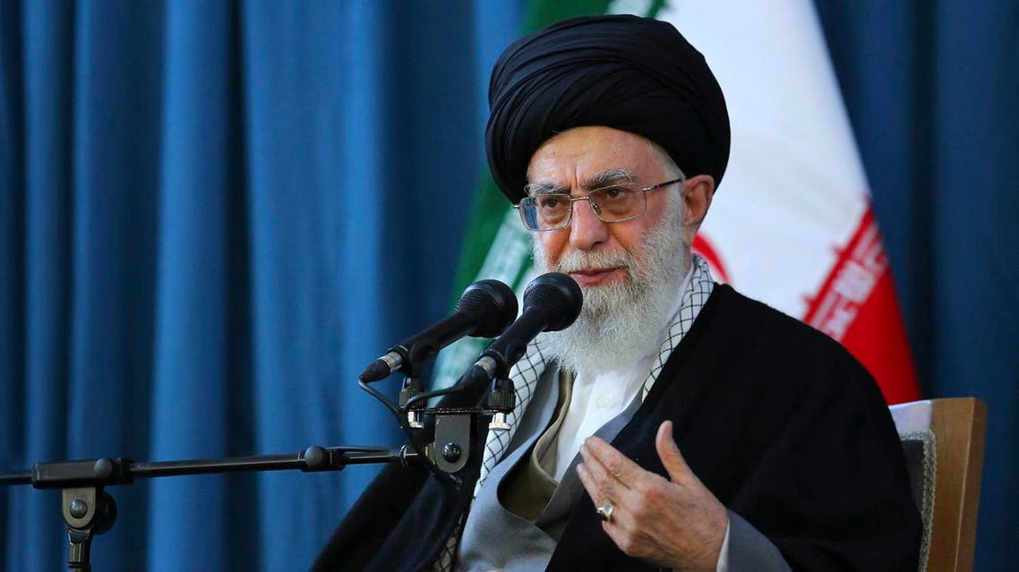 Iranian Supreme Leader Ayatollah Ali Khamenei accused the US of creating 'Iranophobia so no one does business with us'. (File photo: AP)