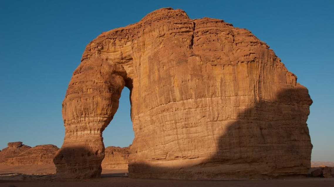 Eleplant Rock formation in the deserts of Saudi Arabia. (Shutterstock)