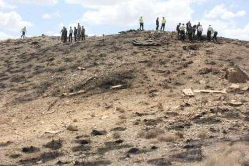 هر دو خلبان هواپیما نجات یافتند