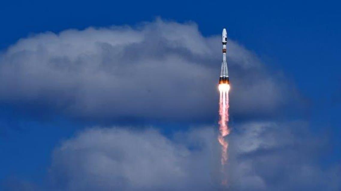 إطلاق الصاروخ الفضائي الروسي سويوز