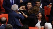 Brawls in Turkish parliament delay legislation on EU migrant deal