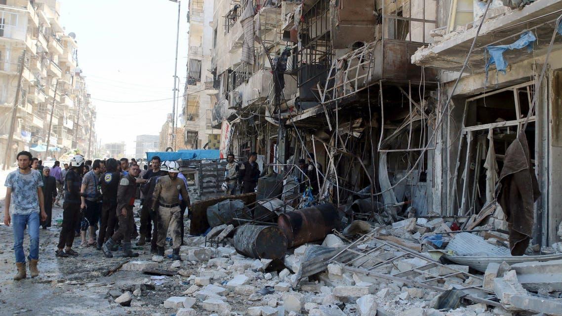 حلب العربية الحدث دمار
