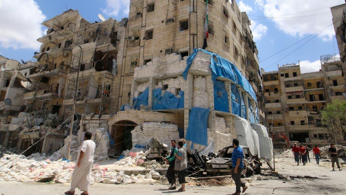 مستشفى القدس أطباء بلا حدود حلب سوريا