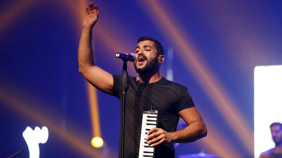 Mashrou' Leila's lead singer Hamed Sinno is openly gay - and the band tackles topics considered taboo by conservative Arab societies. (Reuters)