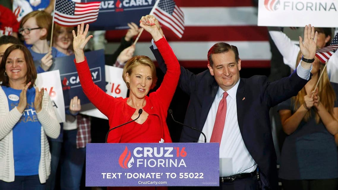 Fiorina, 61, dropped her own White House bid in February after a seventh-place finish in New Hampshire and endorsed Cruz a month later. (Reuters)