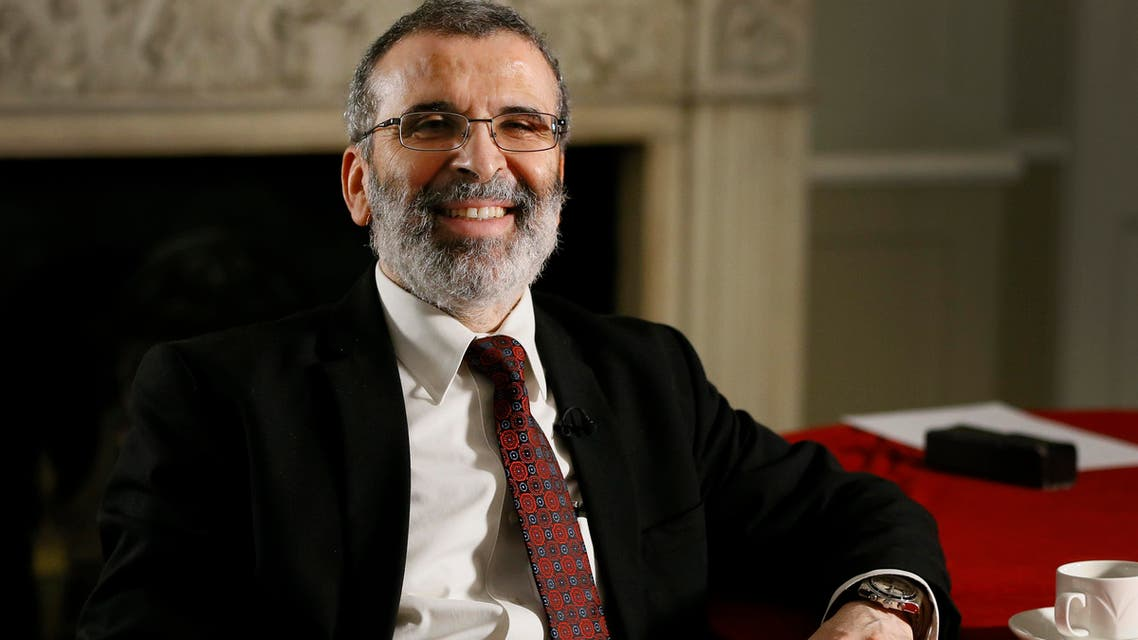 Libyan national oil company chief Mustafa Sanalla during an interview in London on Jan. 25, 2016. (AP)