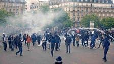محتجون يشتبكون مع الشرطة في فرنسا