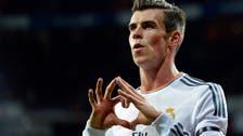 Bale's thunderous header puts Madrid on top of La Liga