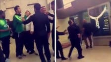 Omar Al Soma in a quarrel with security at Jeddah airport