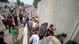 أتباع الصدر يتظاهرون في بغداد بعد دعوته لانتفاضة
