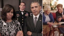 Mic drop! Queen Elizabeth's challenges the Obamas in viral video