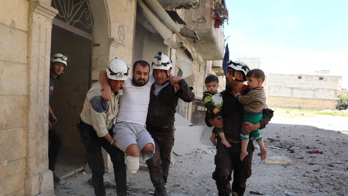 US demands halt to Assad's Aleppo bombing