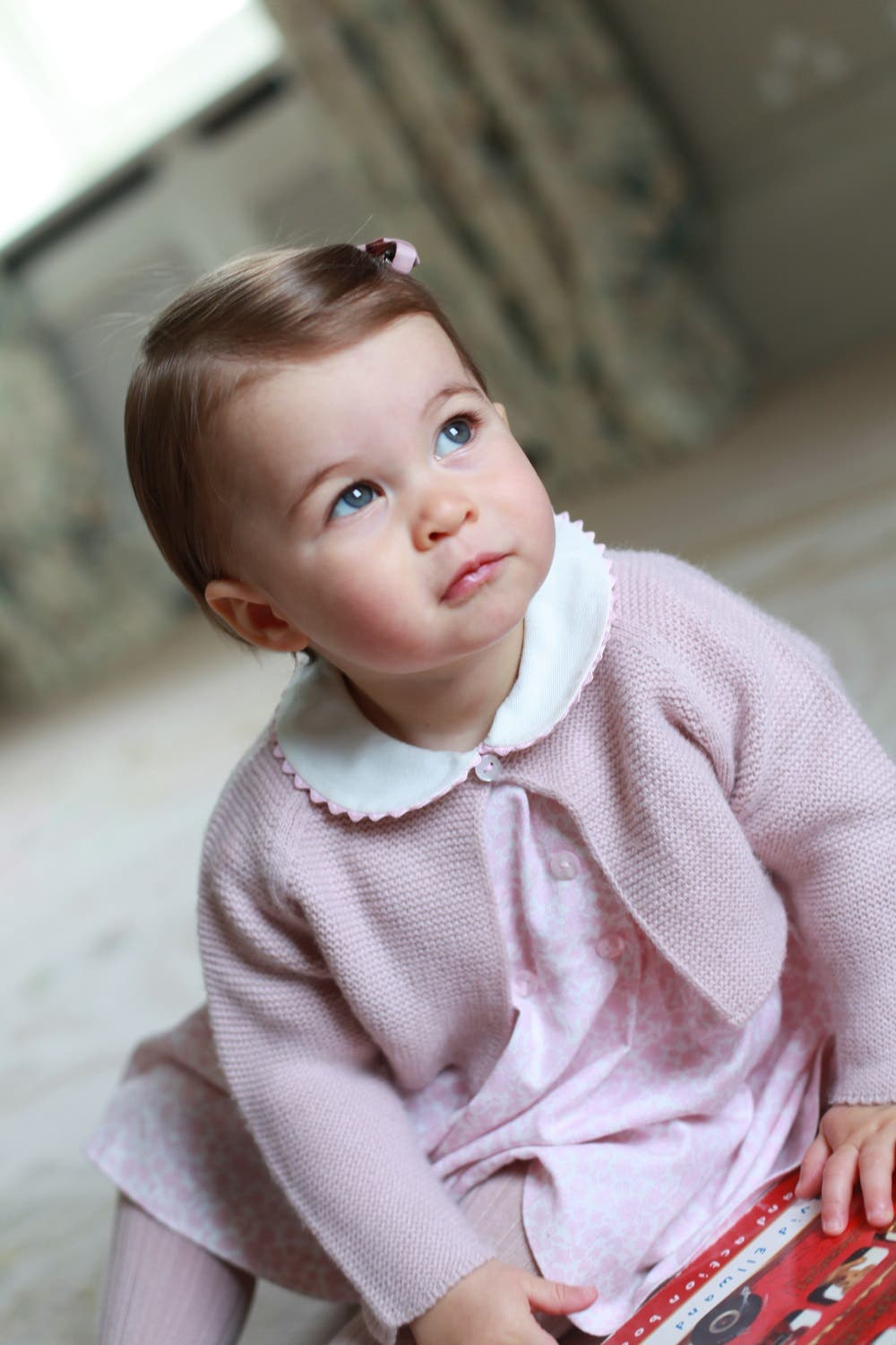 Britain's Princess Charlotte poses for a photograph, at Anmer Hall, in Norfolk, England. (Photo: Kate, the Duchess of Cambridge/Kensington Palace via AP)