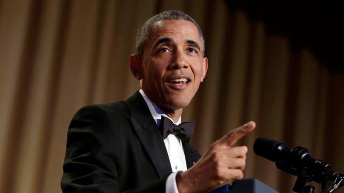أوباما في عشاء مراسلي البيت الأبيض