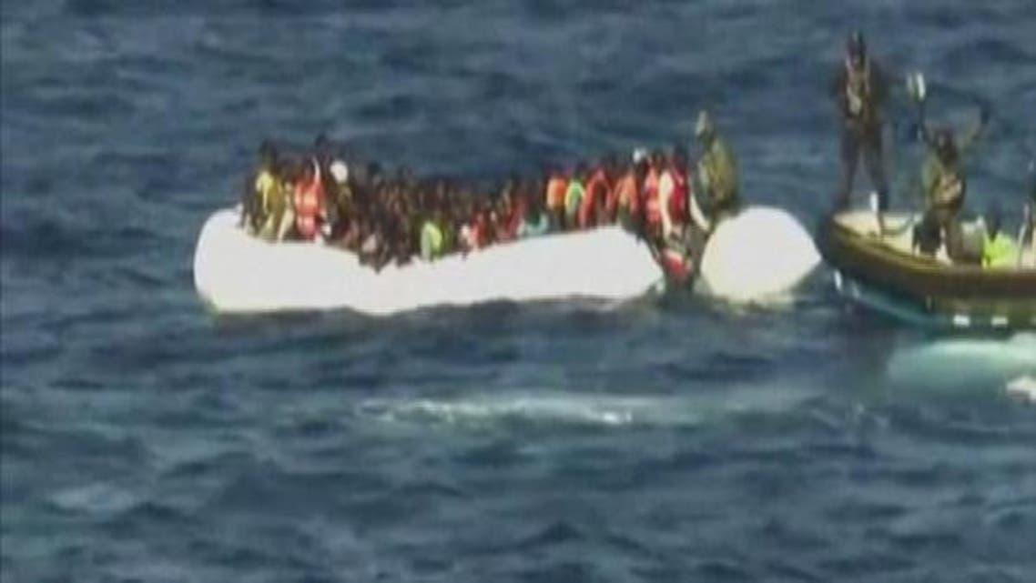 Lybia boat