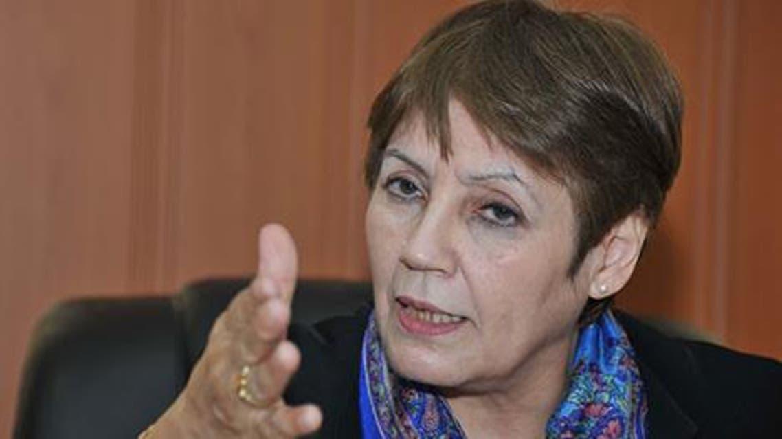 نورية بن غبريط وزيرة التربية في الجزائر