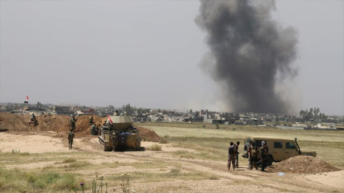 A final assault was launched by Iraqi forces in an attempt to retake the Turkmen majority town of Bashir from ISIS (AFP)