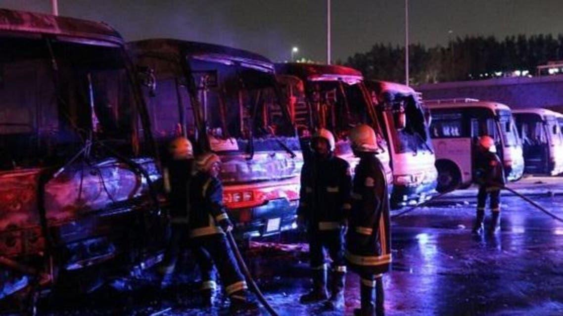 Saudi bus fire