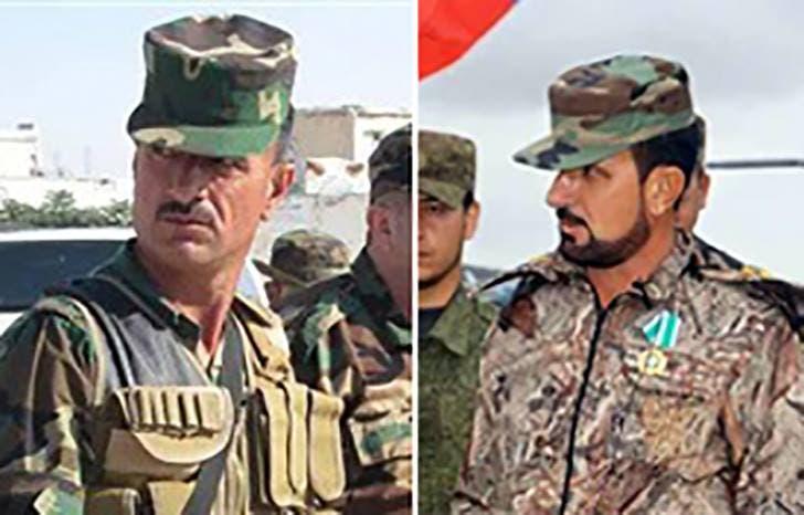العقيد سهيل الحسن من الجيش السوري وجه تهديدات لمحافظ حمص