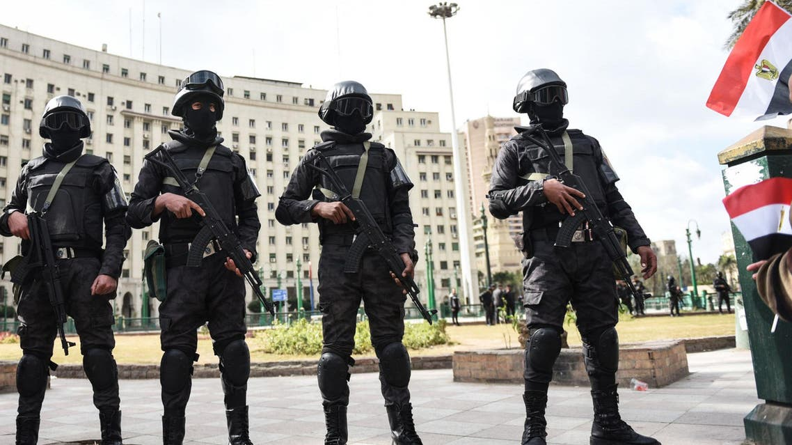 According to rights group Amnesty International, Egyptian security forces arrested hundreds of people ahead of planned protests last month (AFP)