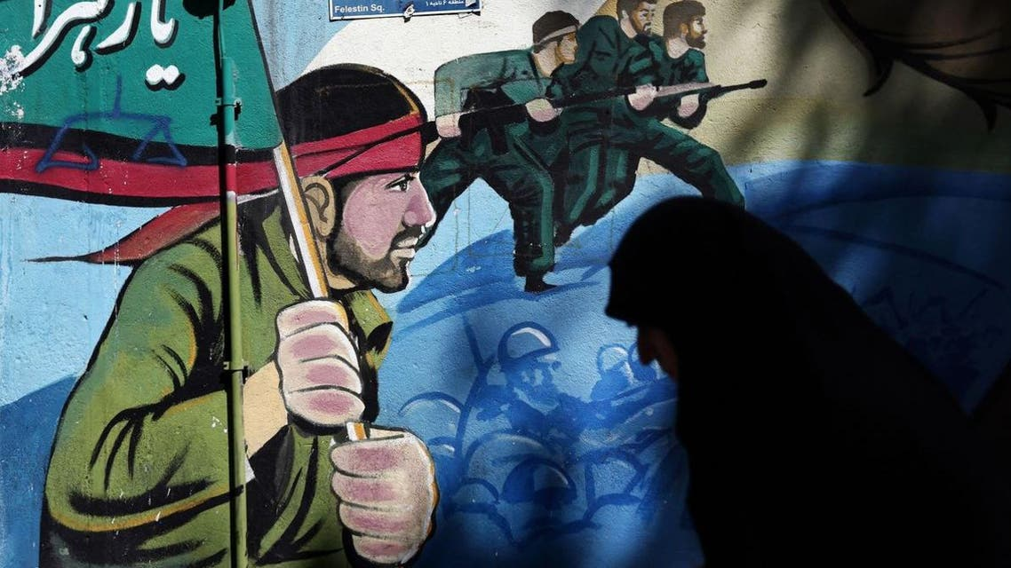 Tehran says its Fatemiyoun Brigade, comprised of Afghan recruits, are volunteers defending sacred Shiite sites in Syria and Iraq. (AFP)