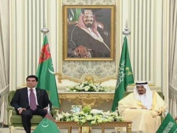 الملك سلمان يجتمع برئيس تركمانستان ويوقعان 9 اتفاقيات