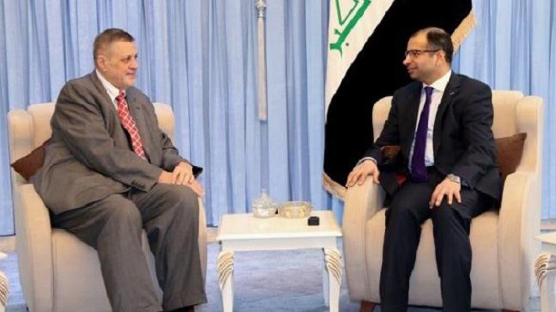 الجبوري وممثل الأمين العام للأمم المتحدة العراق