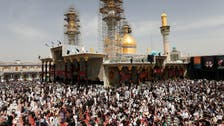 Tens of thousands flock to Baghdad shrine braving bomb threat