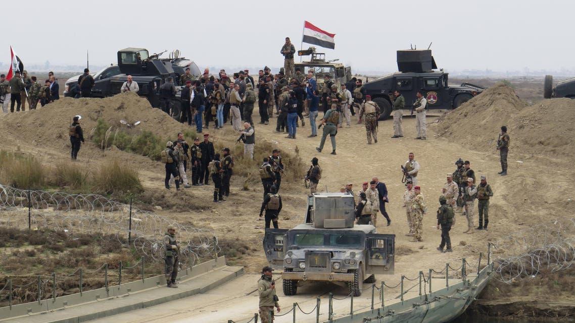 قوات عراقية في الأنبار