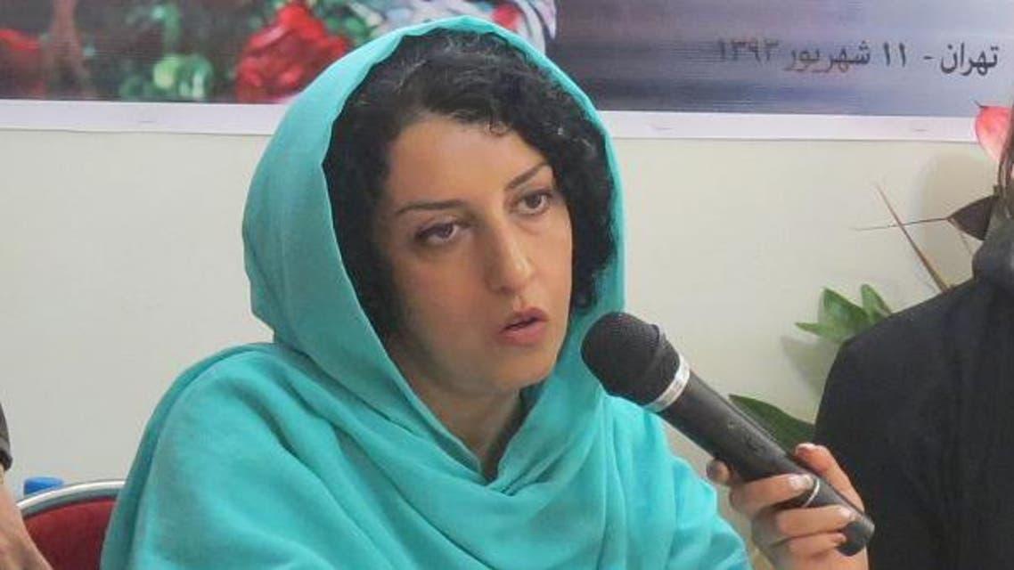 الصحافية والناشطة المعتقلة نرجس محمدي