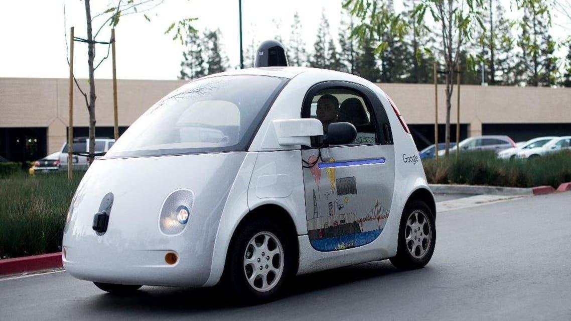 Google, Car (AFP)