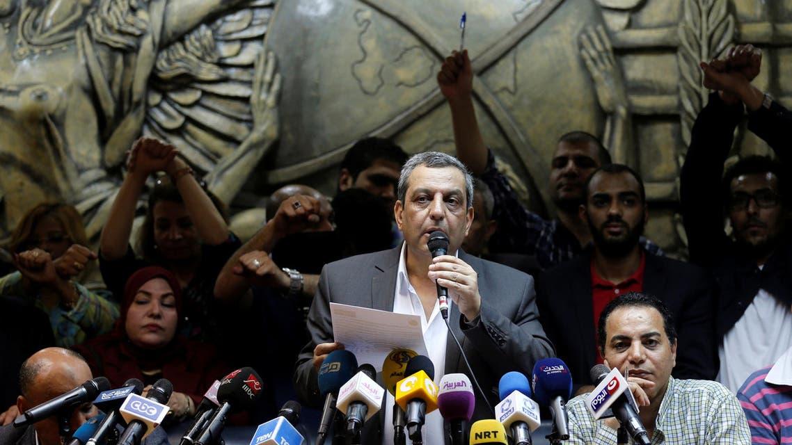 نقيب الصحافيين يحيى قلاش - مصر 3