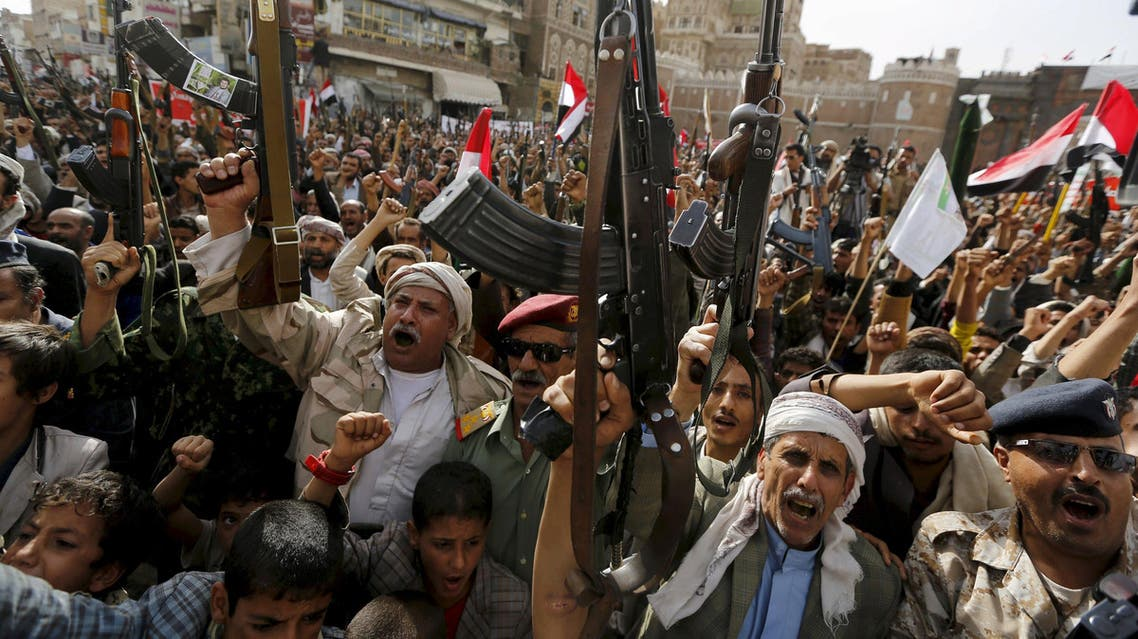 مقاتلون حوثيون