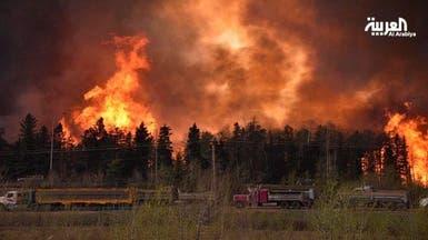 النفط يقفز بسبب حريق غابات كندا وتصاعد القتال في ليبيا