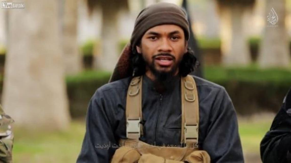 Neil Prakash, also known as Abu Khaled al-Cambodi, converted from Buddhism in 2012 and traveled to Syria a year later. (Screengrab)
