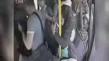 Turkey: Alleged sexual harassment on a bus, passengers react