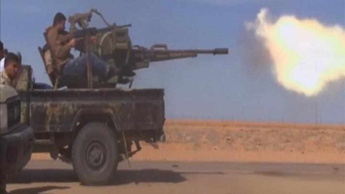 THUMBNAIL_ اشتباكات بين الجيش وعناصر داعش في ليبيا