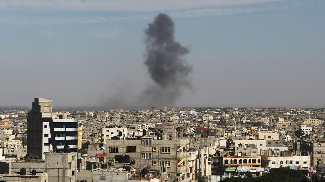 gaza strike israel afp