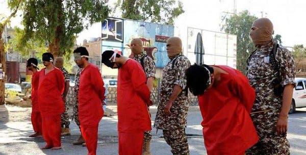 داعش يذبح 5 عراقيين في البوكمال