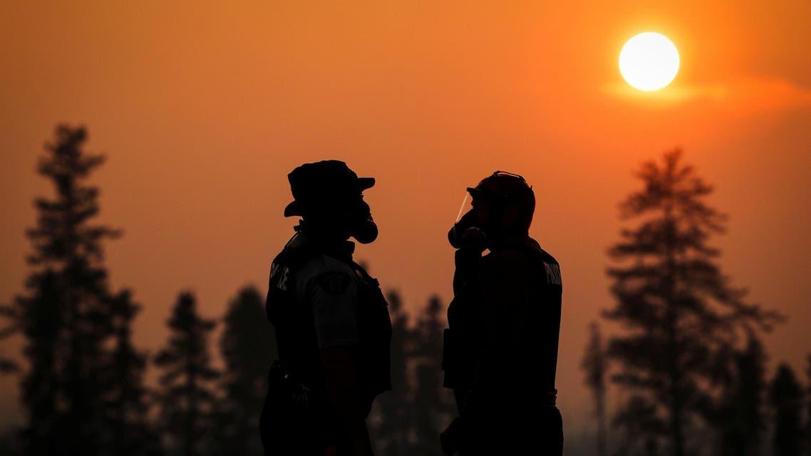 حرائق النفط في كندا بي بي