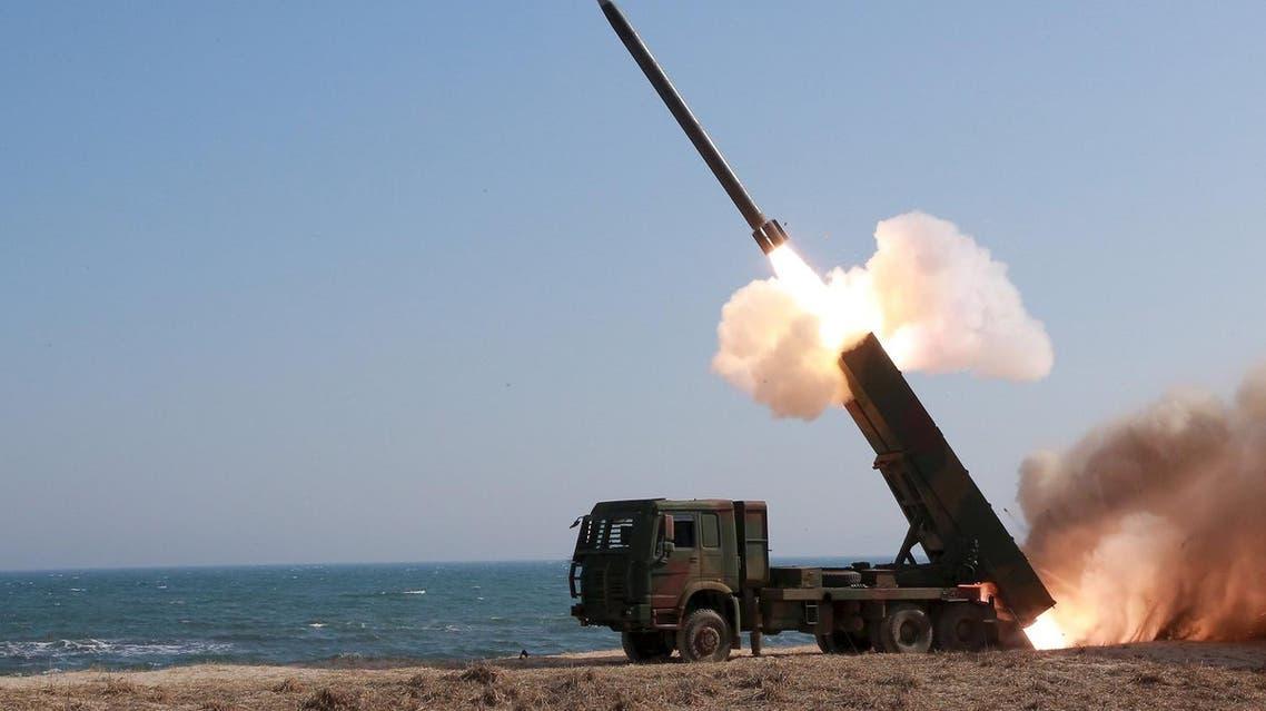 north korea rocket Reuters