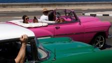 Kim in Cuba: Kardashians roam Havana in hot pink convertible